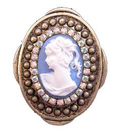 Victorian Shoe magnetic brooch
