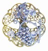 Filigree Flower Grape