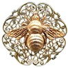 Bee on Filigree